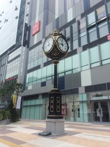 김해시 부원역 - 사랑의 시계탑