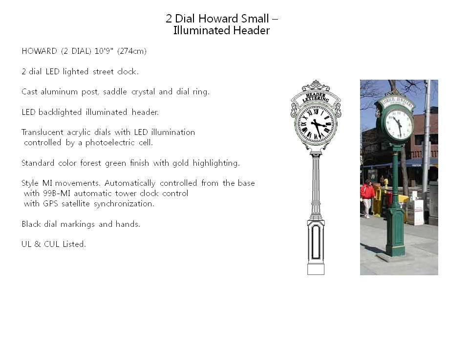 2 Dial Howard Small – Illuminated Header