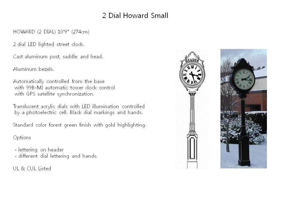 2 Dial Howard Small