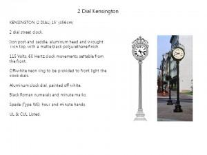 2 Dial Kensington