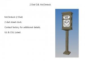2 Dial O.B. McClintock