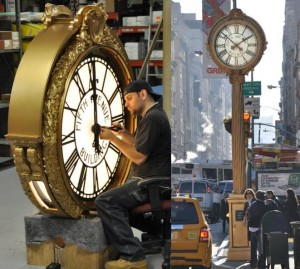 2011-11 Street Clock Restoration for an Iconic Piece of New York City