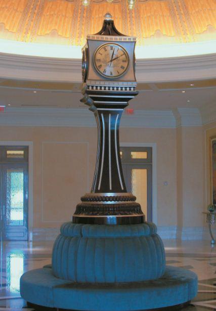 Waldorf Astoria Clock - Orlando, Florida, USA