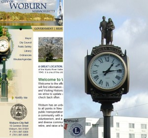 City of Woburn Street Clock