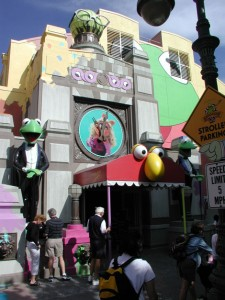 Muppets Clock - Orlando, Florida