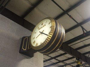 ROLEX Braket Clock