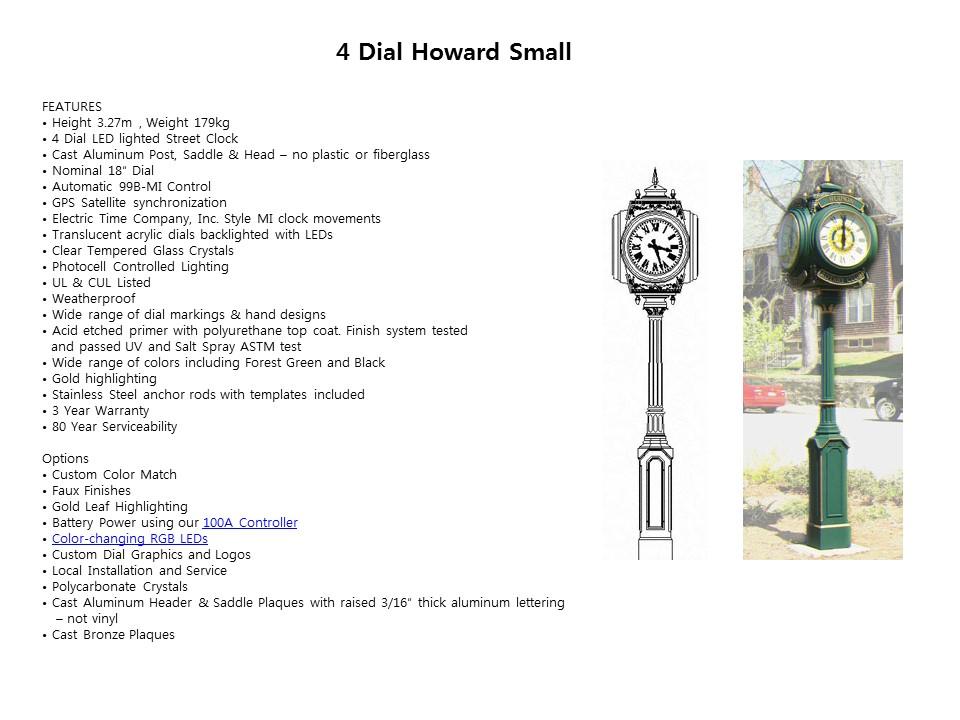 4 Dial Howard Small