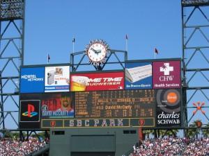 AT&T-Park-Scoreboard-Clock